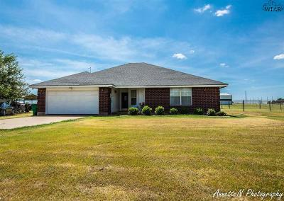 Wichita Falls Single Family Home For Sale: 8739 Sandy Road