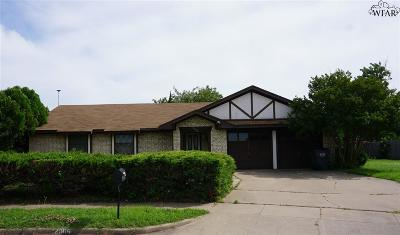 Wichita Falls Single Family Home For Sale: 2306 Hunters Glen