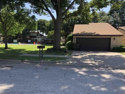 Wichita Falls Single Family Home Active W/Option Contract: 4116 Picasso Drive