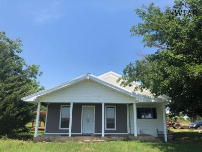 Wichita Falls Single Family Home For Sale: 894 Wallace Road