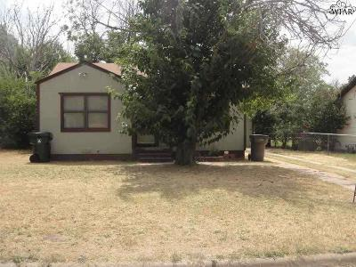 Wichita County Rental For Rent: 1633 Hamlin Avenue