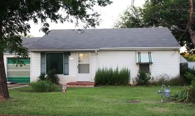Wichita Falls Single Family Home For Sale: 1021 Hirschi Lane