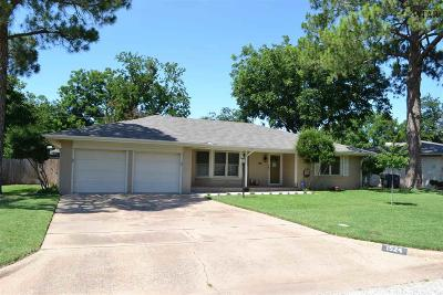 Wichita Falls Single Family Home For Sale: 1524 Hanover Road