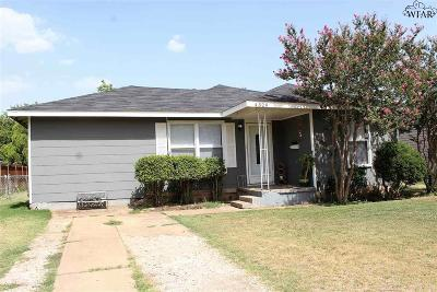 Wichita County Rental For Rent: 4329 Cunningham Drive