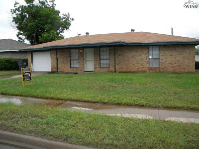 Wichita Falls Single Family Home For Sale: 4635 Jennings Avenue