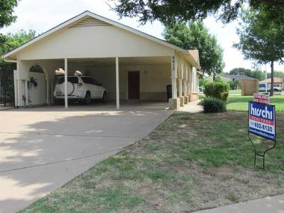 Wichita Falls Single Family Home For Sale: 4615 Spanish Trace