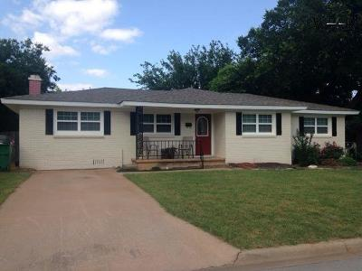 Burkburnett Single Family Home For Sale: 1103 Shady Lane