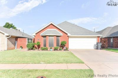 Wichita Falls Single Family Home Active W/Option Contract: 3700 Alexandria Street