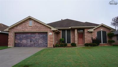 Wichita Falls TX Single Family Home For Sale: $190,000