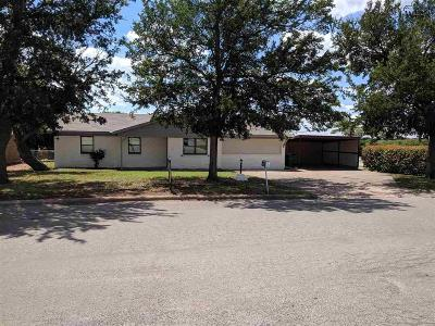 Archer County, Baylor County, Clay County, Jack County, Throckmorton County, Wichita County, Wise County Single Family Home For Sale: 1322 N 4th Street