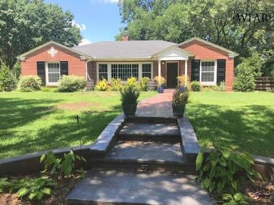 Archer County, Baylor County, Clay County, Jack County, Throckmorton County, Wichita County, Wise County Single Family Home For Sale: 2206 Cooke Avenue