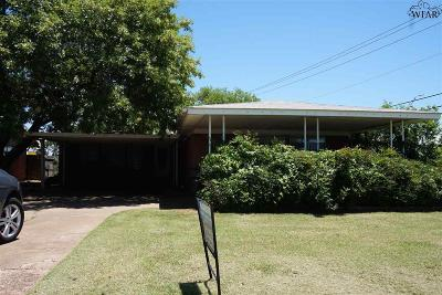 Archer County, Baylor County, Clay County, Jack County, Throckmorton County, Wichita County, Wise County Single Family Home For Sale: 419 E Rogers Drive