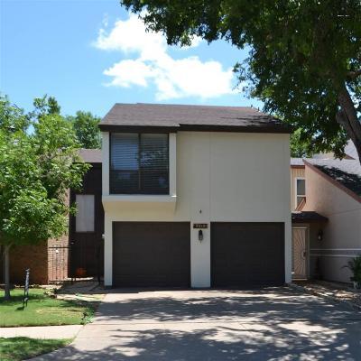 Wichita Falls Single Family Home For Sale: 4103 Seabury Drive