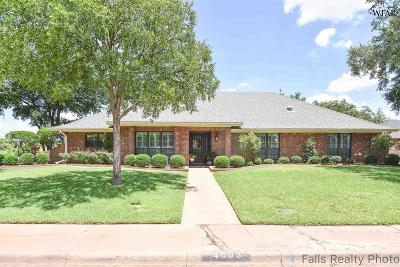 Archer County, Baylor County, Clay County, Jack County, Throckmorton County, Wichita County, Wise County Single Family Home For Sale: 4603 Willow Bend Drive
