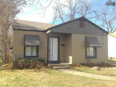 Wichita County Rental For Rent: 2506 Marie Street