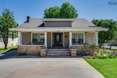 Wichita County Single Family Home For Sale: 1627 Lucile Avenue