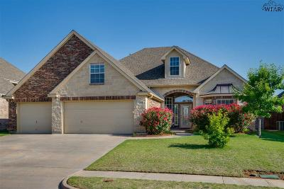 Wichita Falls Single Family Home For Sale: 5107 Crown Ridge Drive
