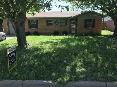 Wichita County Rental For Rent: 1709 Tucson Drive