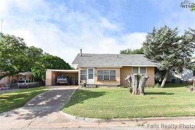 Wichita County Single Family Home For Sale: 3205 10th Street
