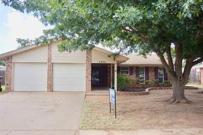 Wichita Falls Single Family Home For Sale: 2804 Blanco Street