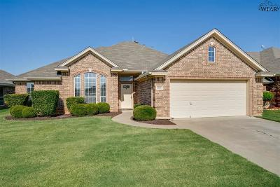 Wichita Falls Single Family Home Active W/Option Contract: 5003 Southfork Drive