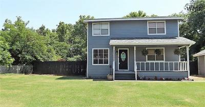 Burkburnett Single Family Home For Sale: 614 W Cottonwood Street
