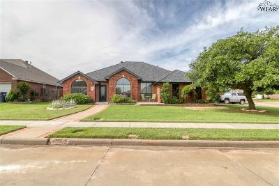 Wichita Falls Single Family Home For Sale: 3200 Lancaster Lane