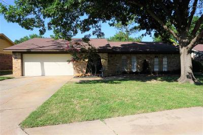Wichita Falls Single Family Home For Sale: 4504 Trailwood Drive
