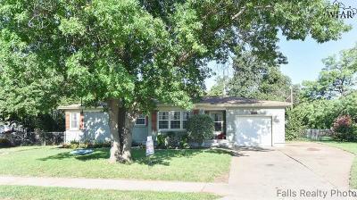 Wichita Falls Single Family Home For Sale: 4302 Hughes Drive