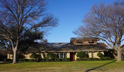 Burkburnett Single Family Home For Sale: 1404 Chaparral Road