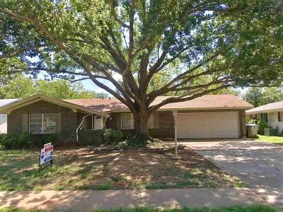Wichita Falls Single Family Home For Sale: 4119 Kingsbury Drive