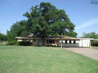 Wichita County Single Family Home For Sale: 1746 Turtle Creek Road