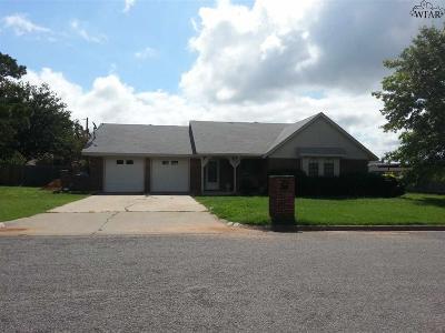 Wichita County Rental For Rent: 1013 Sugarbush Lane