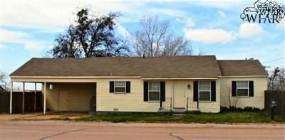 Electra TX Single Family Home For Sale: $32,500