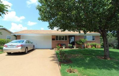 Wichita Falls Single Family Home For Sale: 1601 Deer Parkway