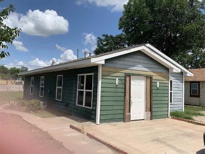 Wichita Falls Single Family Home For Sale: 1601 Burnett Street