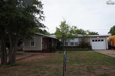 Wichita County Rental For Rent: 1526 Hursh Avenue