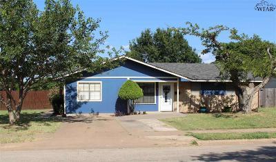Wichita Falls Single Family Home For Sale: 4701 Cape Cod Drive