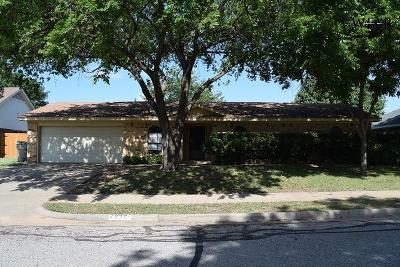Wichita Falls Single Family Home For Sale: 4826 K-Mart Drive