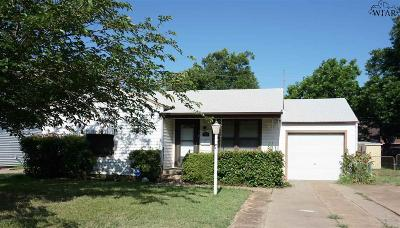 Wichita Falls Single Family Home For Sale: 316 Rockwood Drive