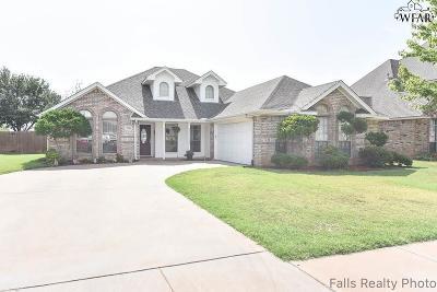 Wichita Falls Single Family Home For Sale: 2961 S Shepherds Glen