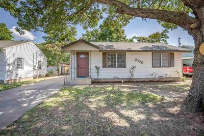Single Family Home Active W/Option Contract: 2920 Featherston Avenue