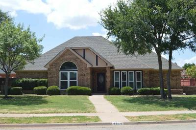 Wichita Falls Single Family Home For Sale: 4614 Willow Bend Drive