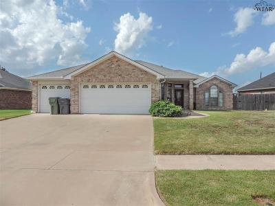 Wichita Falls Single Family Home For Sale: 6108 Sandy Hill Boulevard