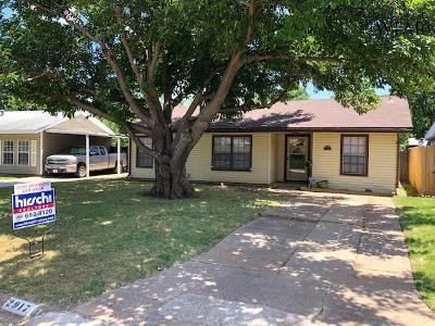 Wichita Falls Single Family Home For Sale: 2917 Moffett Avenue