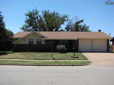 Wichita Falls Single Family Home For Sale: 4042 Hooper Drive