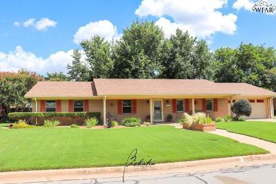 Burkburnett TX Single Family Home Active W/Option Contract: $197,500