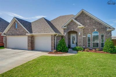 Wichita Falls Single Family Home For Sale: 7 Clover Court