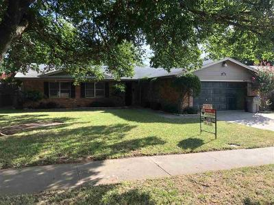 Wichita County Rental For Rent: 4610 Hollandale Avenue