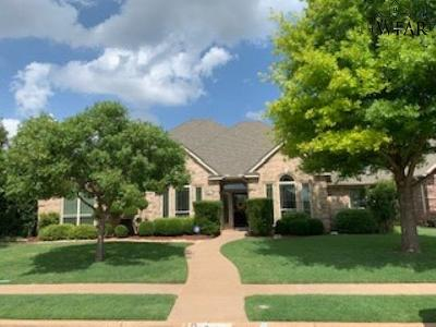 Wichita Falls TX Single Family Home Active W/Option Contract: $299,900